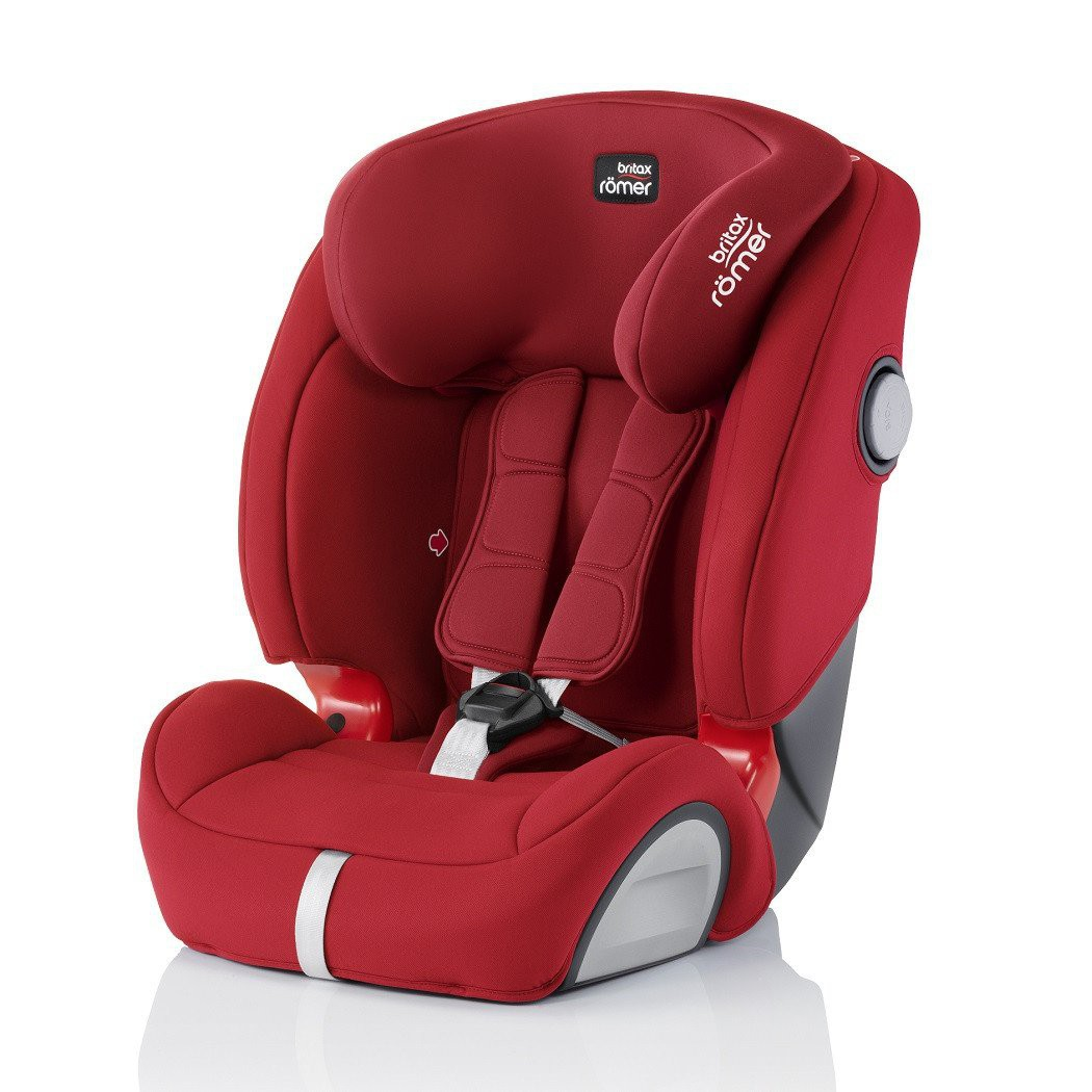 BRITAX EVOLVA 123 SL SICT BOOSTER CAR SEAT - FLAME
