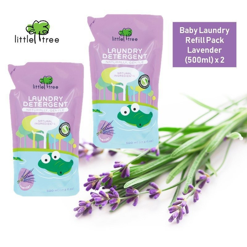 Little Tree Baby Laundry Detergent Refill Pack  (
