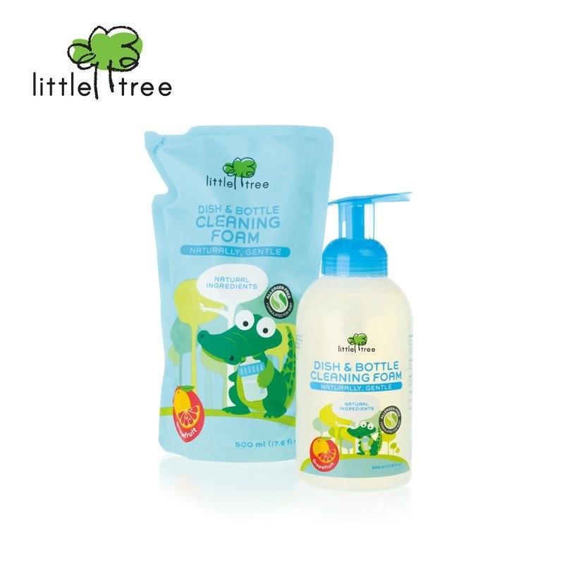 Little Tree Dish & Bottle Wash 500ml + Refill 500m