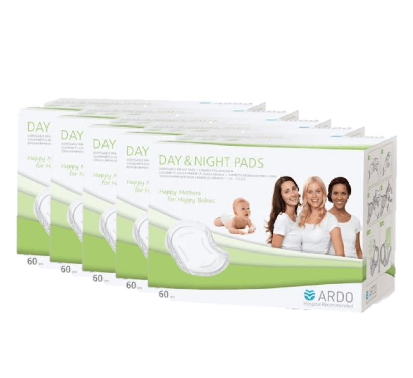 Ardo Day and Night Breast Pad 5 boxes (30pcs x 5)