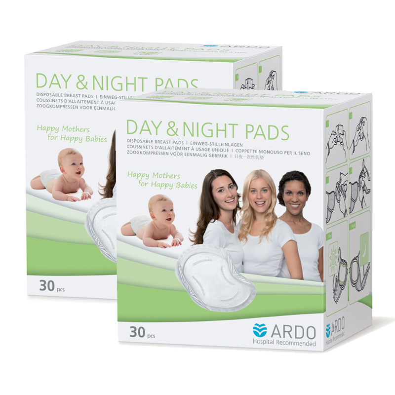 1 FOR 1 Ardo Day and Night Breast Pad (30pcs)