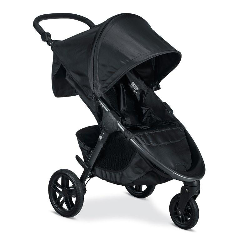 Britax B-Free Stroller - Cool Flow Grey + Child Tr