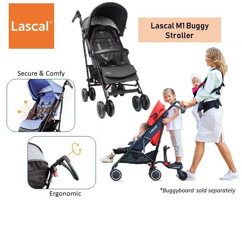 Lascal M1 Buggy Stroller [2 colours available]