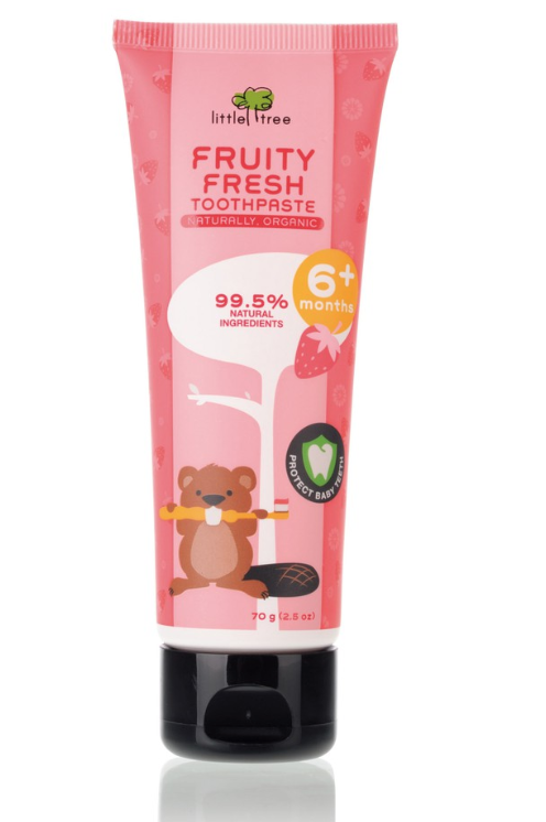 Little Tree Fruity Fresh Toothpaste: Strawberry (7