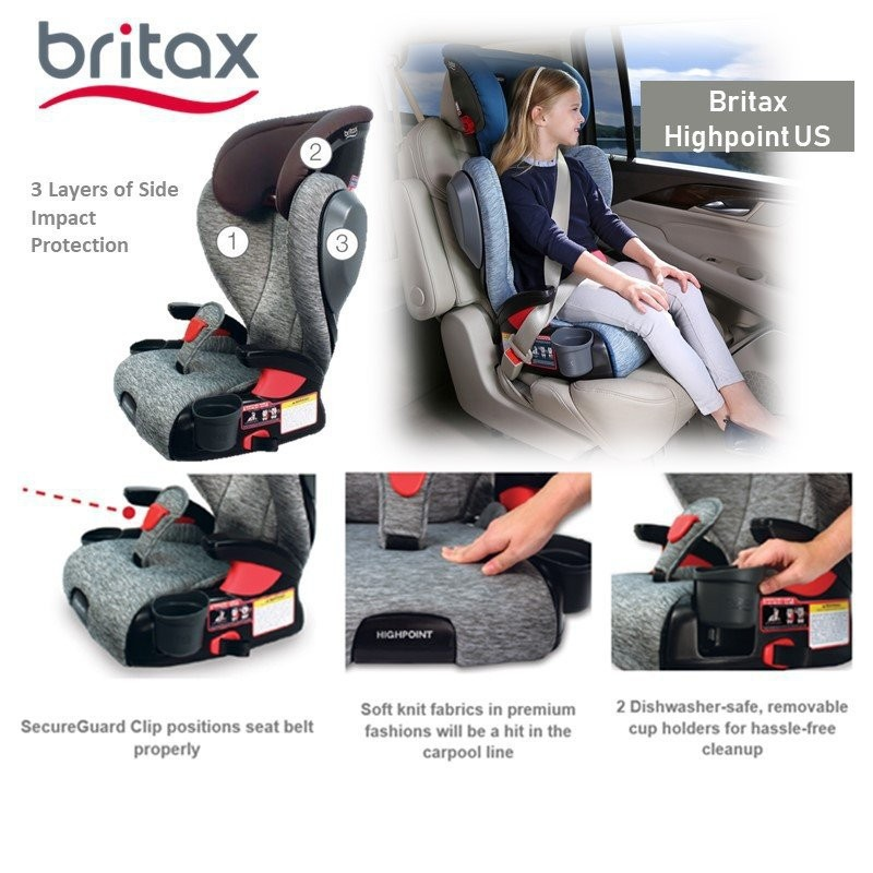 Britax Highpoint US [2 colours available]