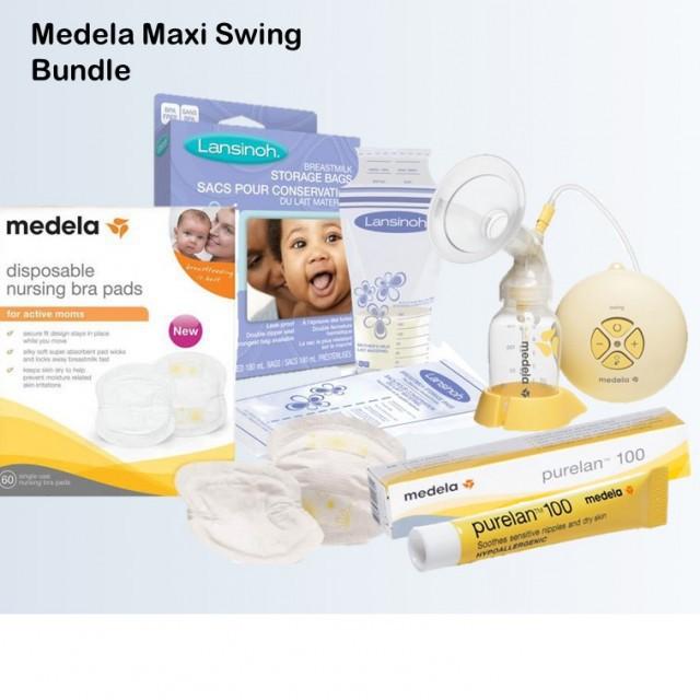 Medela Swing Maxi + Freebies worth $45.70