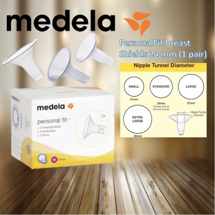 Medela PersonalFit Breast Shields 24 mm (1 pair)