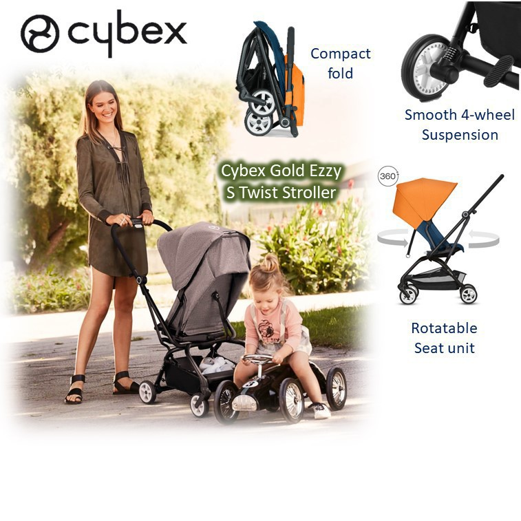 Cybex Gold Ezzy S Twist Stroller [Available in mul
