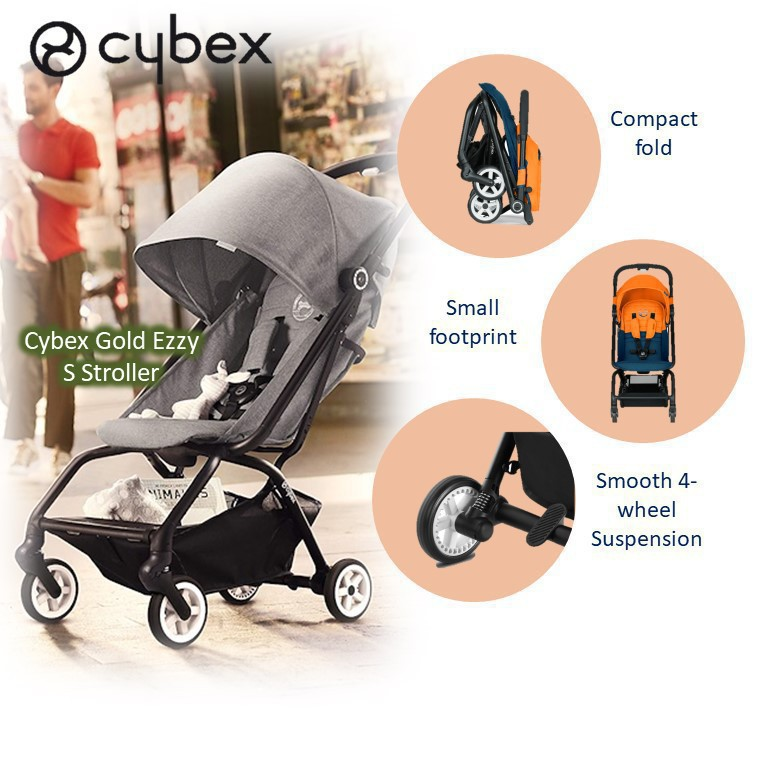 Cybex Gold Eezy S Stroller [Available in multiple