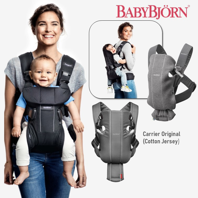 Baby Bjorn Carrier Original [Cotton Jersey]