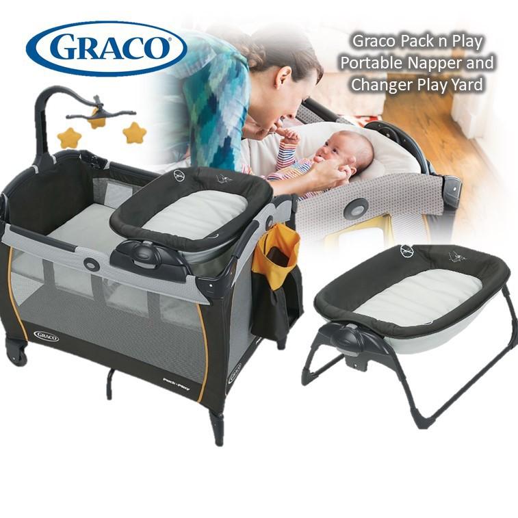 Graco Pack 'n Play Playard Portable Napper & Chang