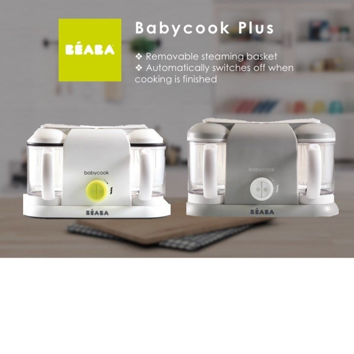 Beaba Babycook Plus (2 colours available)