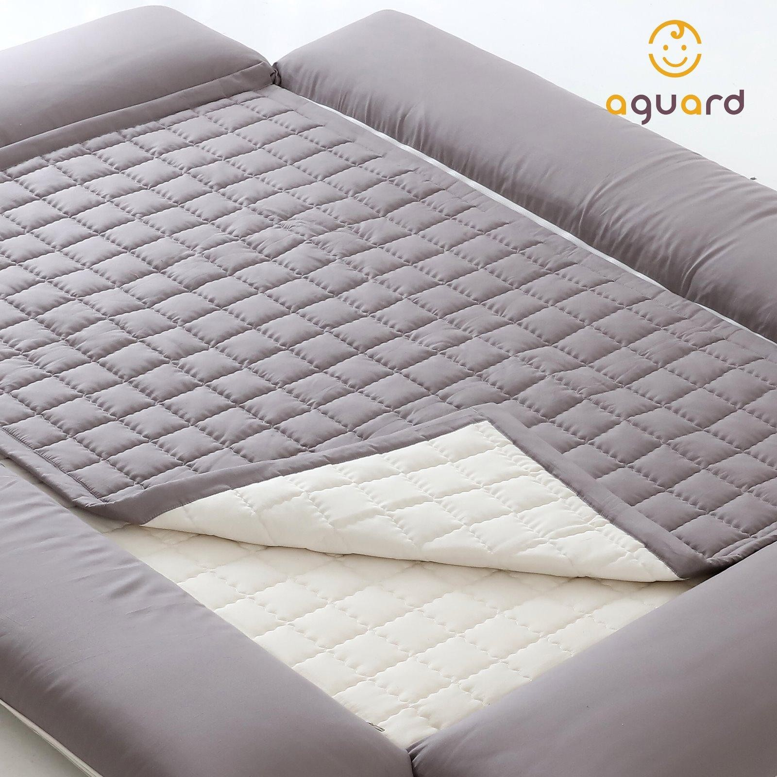AGUARD Bumper Bed Waterproof Mattress Protector -