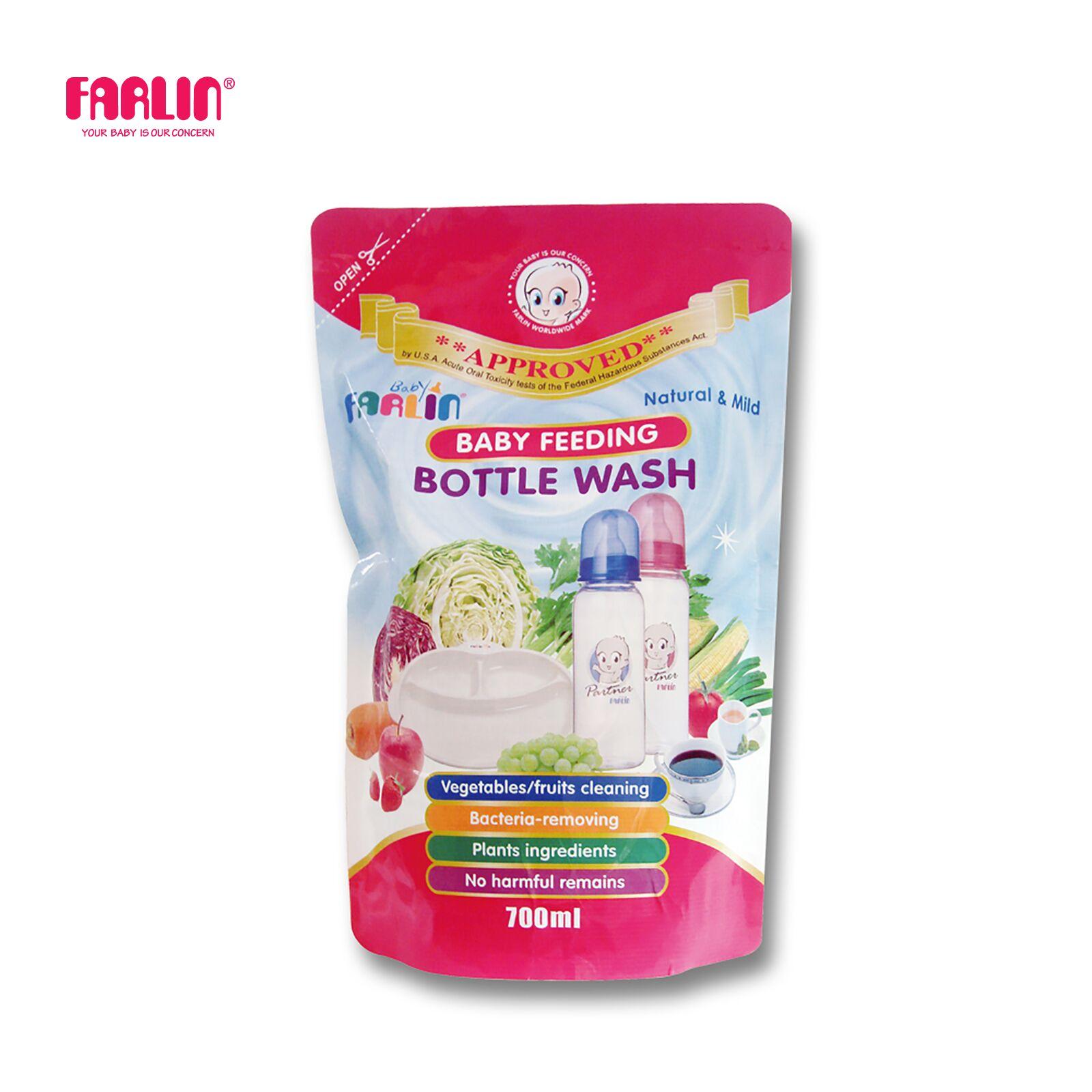 Farlin Feeding Bottle Wash 700ml (Refill)