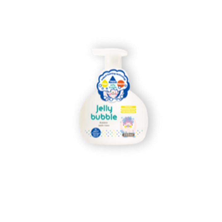 Jelly Bubble 2 in 1 Bubble Bath & Shampoo 250ML