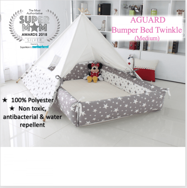 AGUARD Bumper Bed in Twinkle (M)