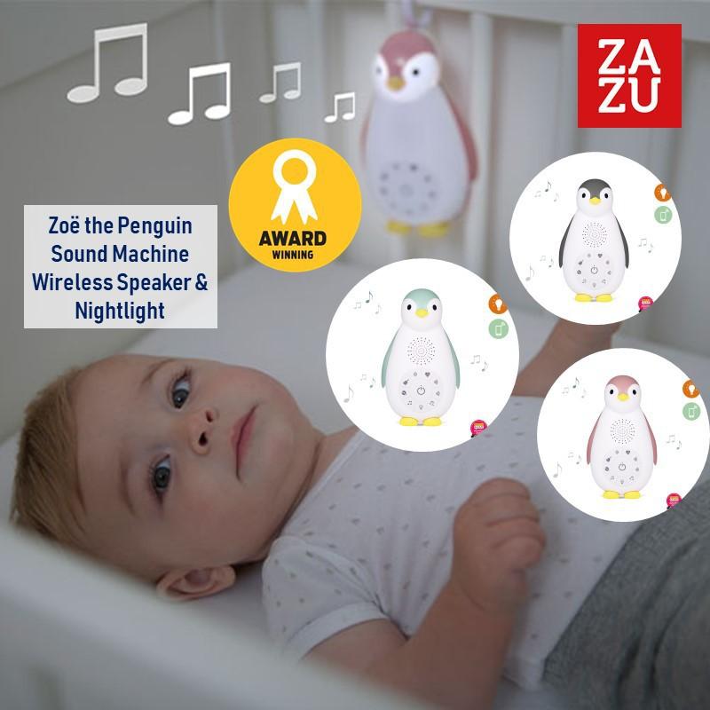 Zazu Zoe the Penguin Sound Machine Wireless Speake