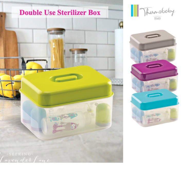 Thermobaby Double Use Sterilizer Box with Brush (A