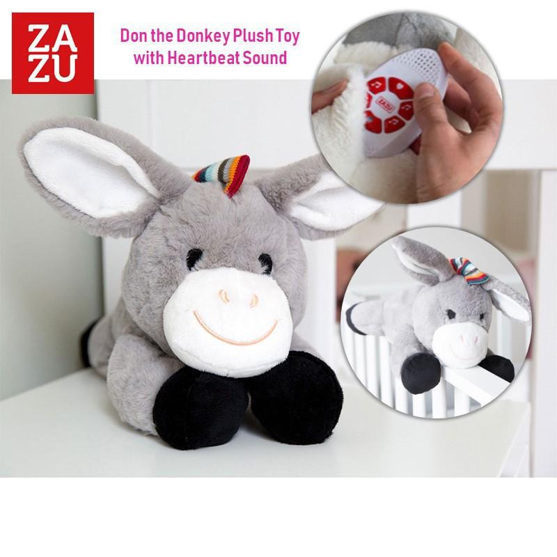 Zazu Don the Donkey Musical Soft Toy Comforter wit