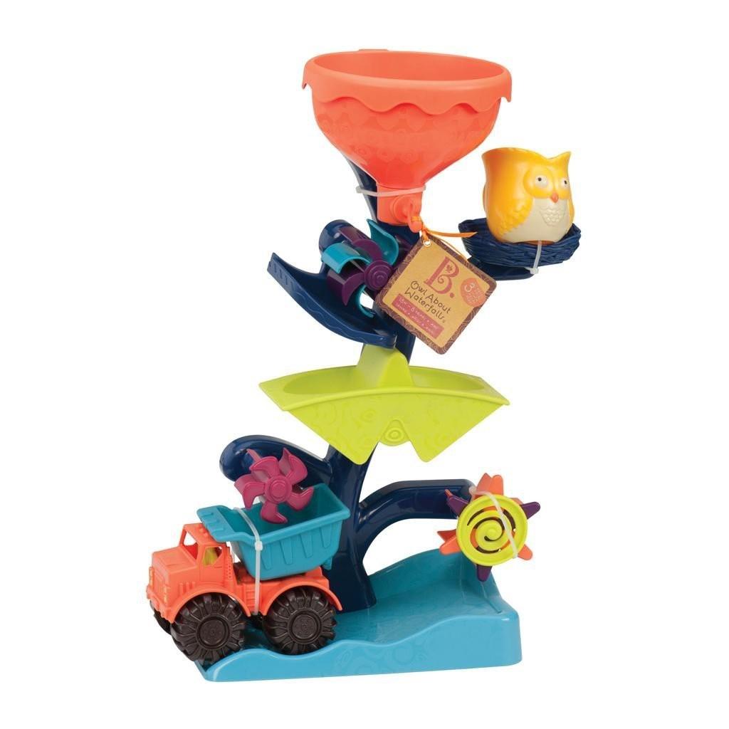 B.Toys Owl About Waterfalls, Waterwheel