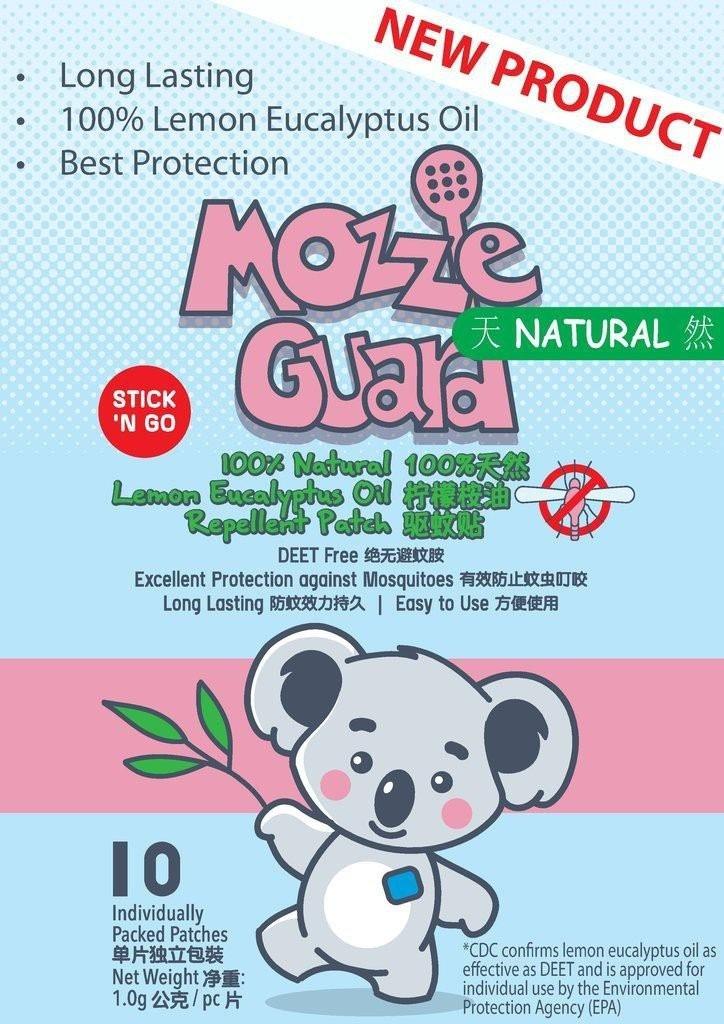 Mozzie Guard - 100% Natural Lemon Eucalyptus Oil M
