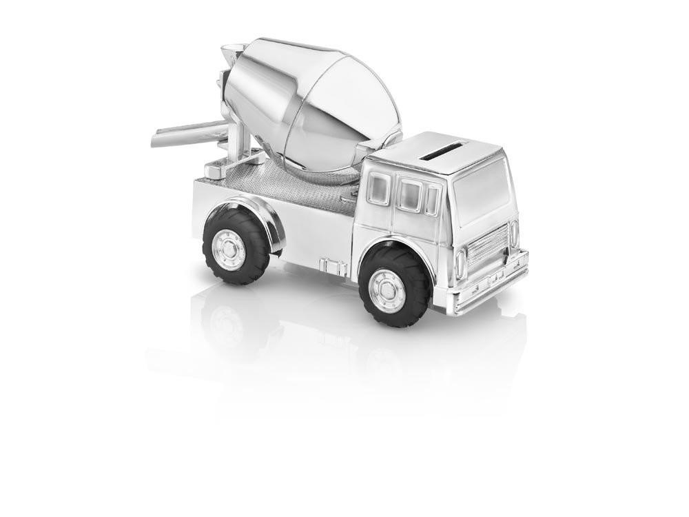 Zilverstad Money Box Cement Truck