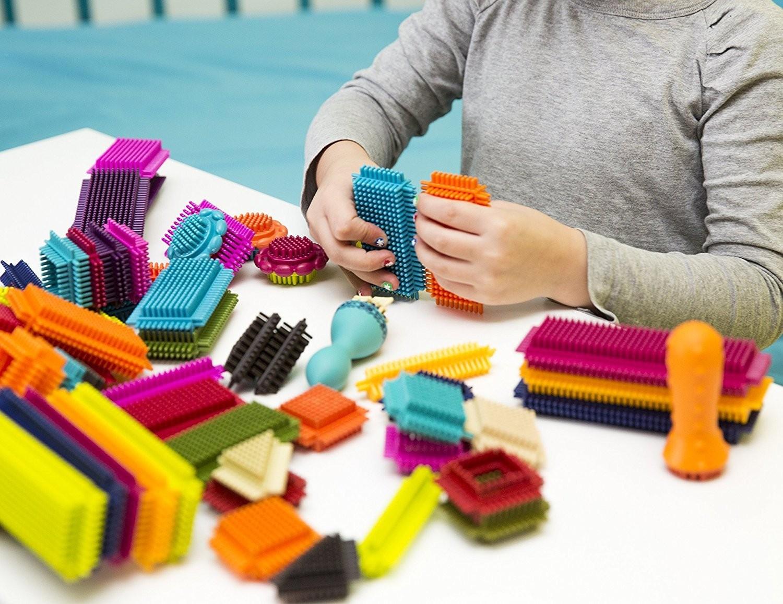 B.Toys Bristle Block Stackadoos