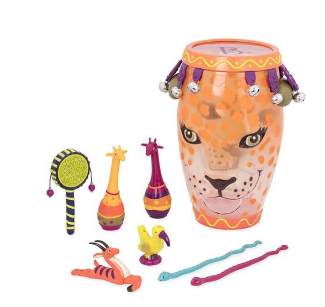 B.Toys Jungle Jam Drum