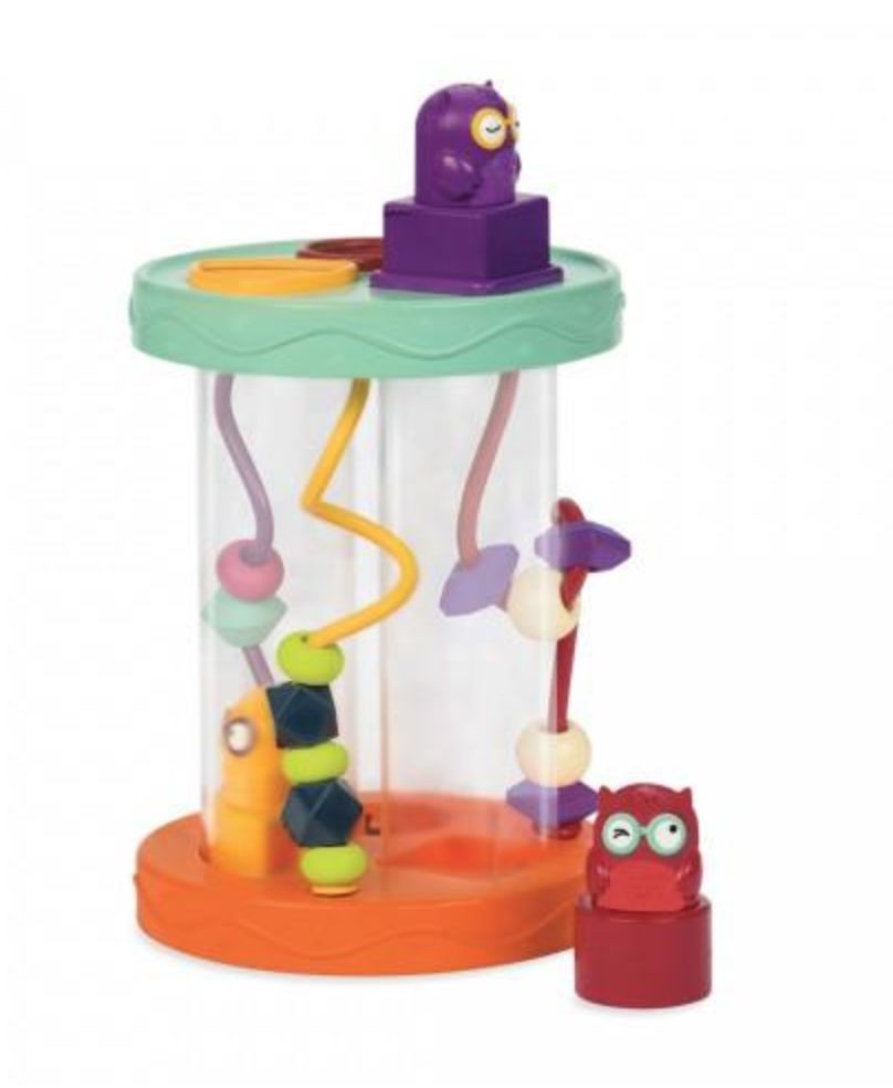 [$29 Special] B.Toys Hooty-Hoo Shape Sorter with S