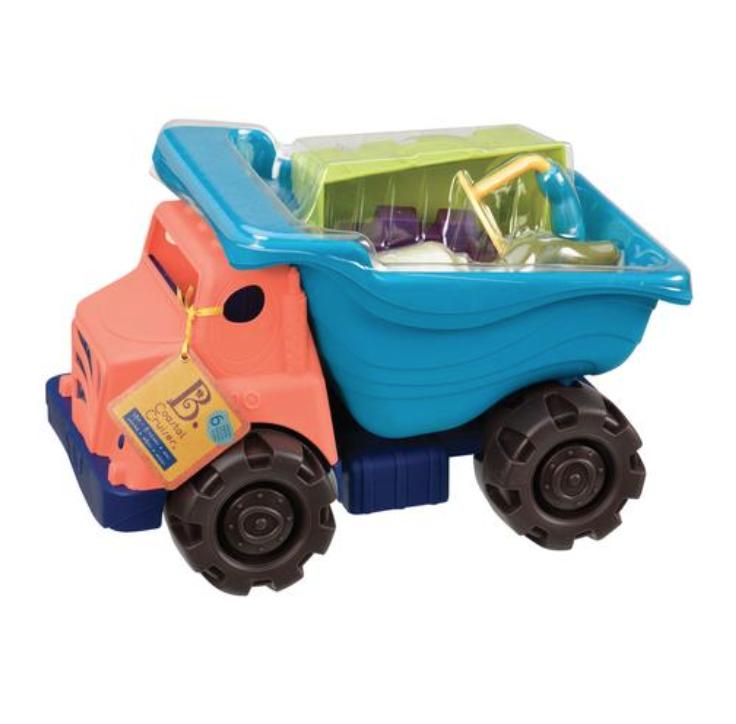 [Award-Winning] B.Toys Coastal Cruiser (Sand, Truc