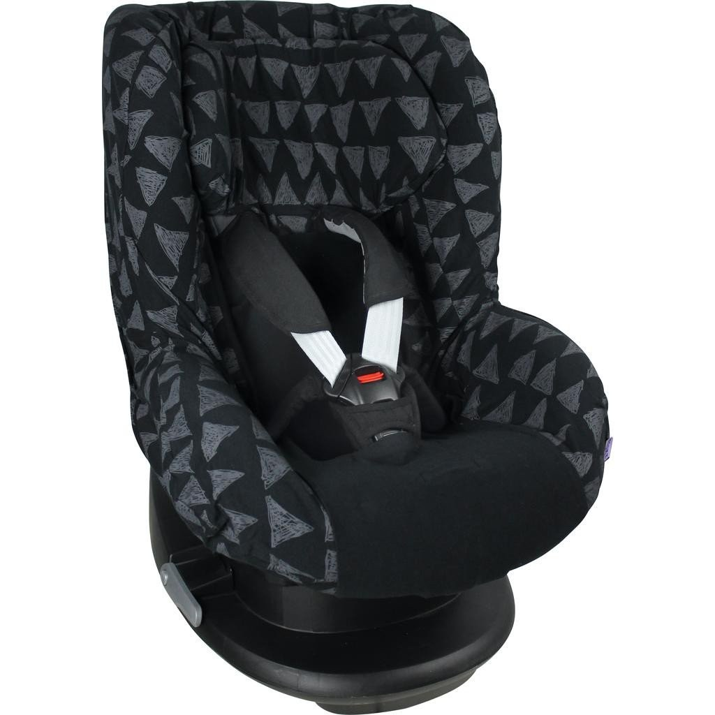Dooky Seat Cover 1 Black Tribal
