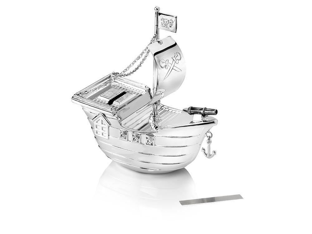 Zilverstad Money Box, Pirate Ship
