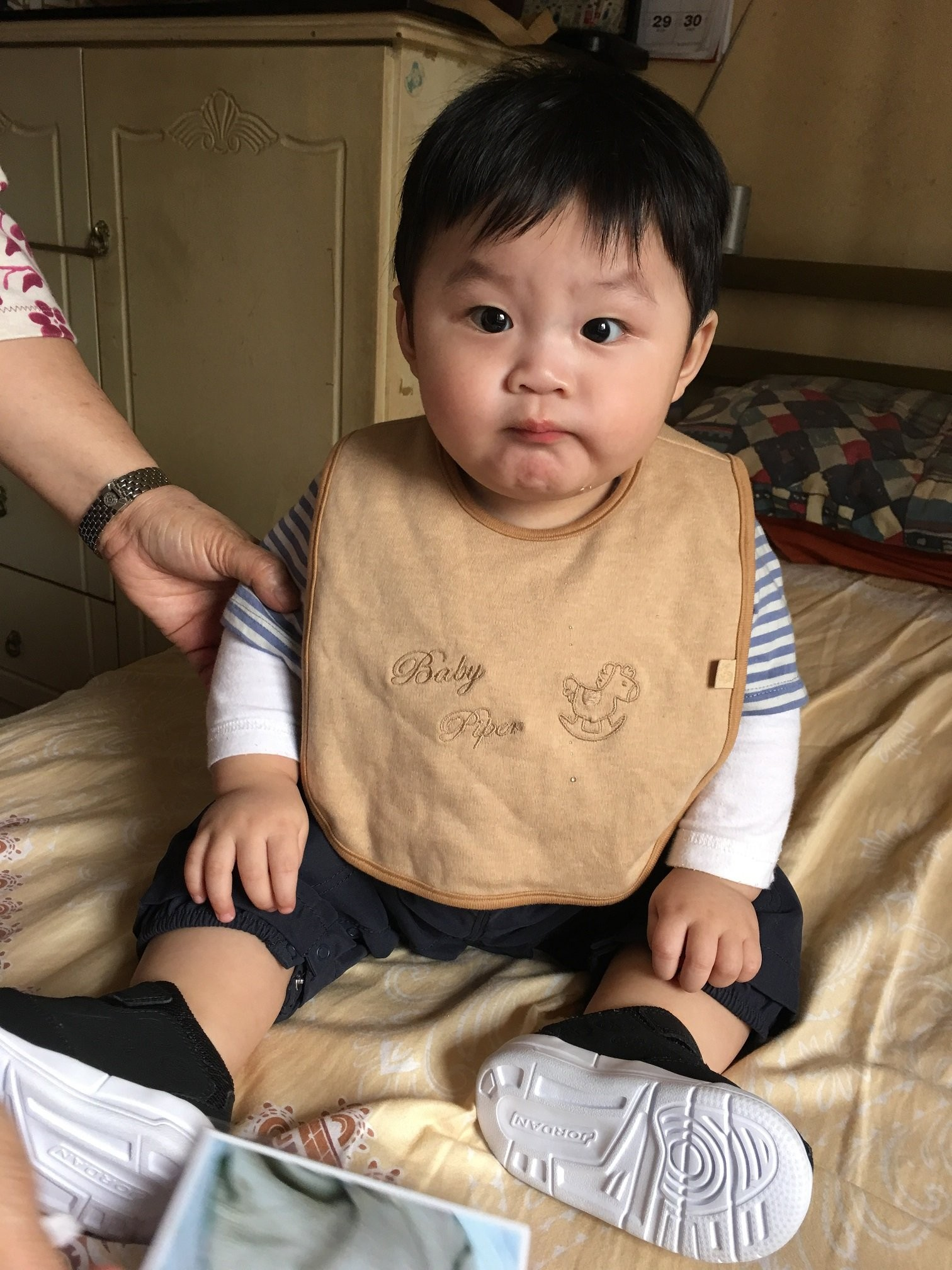 Baby Piper Organic Bib (1116)