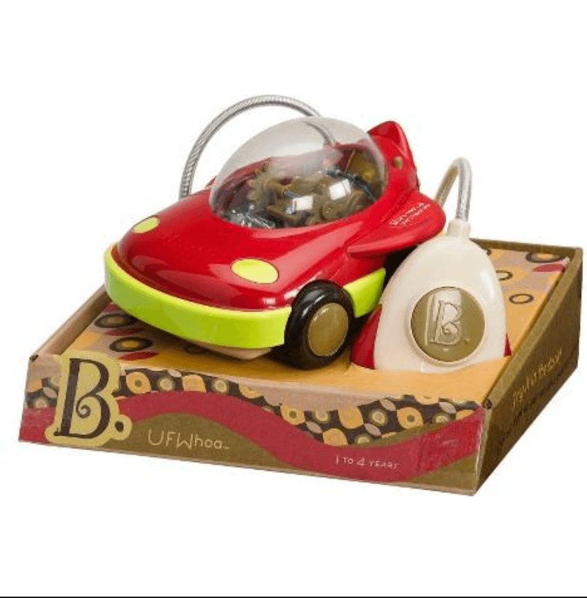 B.Toys - Wheeee-mote Control Space UFWhoa Car (Red