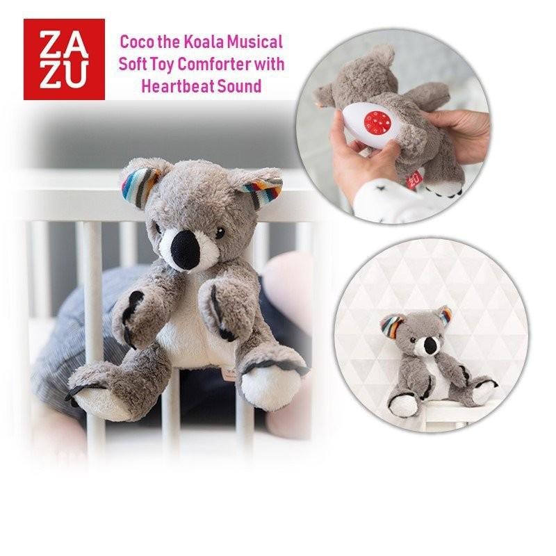 Zazu Coco the Koala Musical Soft Toy Comforter wit