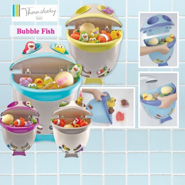 Thermobaby Bubblefish Bath Toys Storage (Available