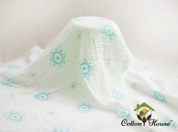 Cotton House Swaddle (Pre-packed Bundle of 3)