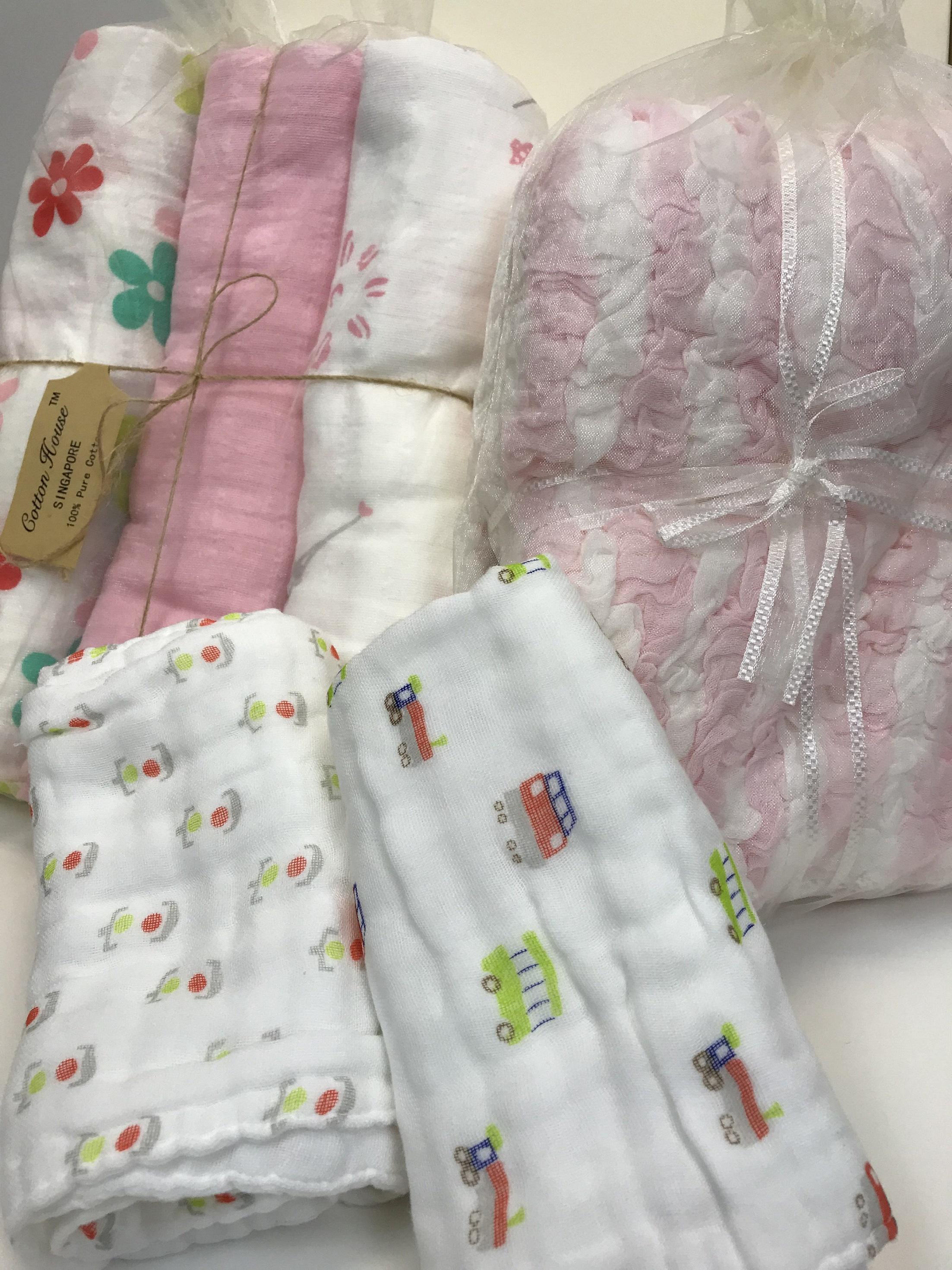 Cotton House Combo Bundle 2: Cabbage Blanket + Pre