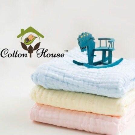 Cotton House Towel Cum Blanket (120cm x 120cm)
