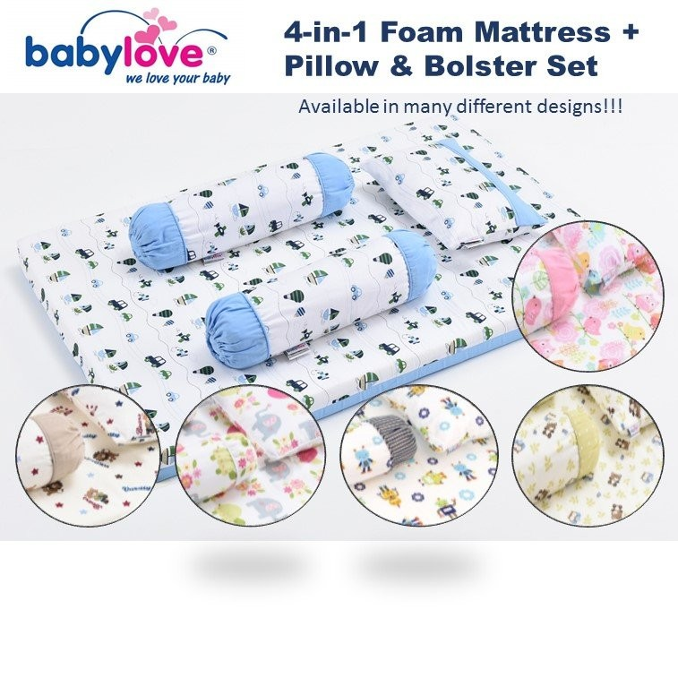 BabyLove Premium 4-in-1 Travel Mattress Set 2980 C