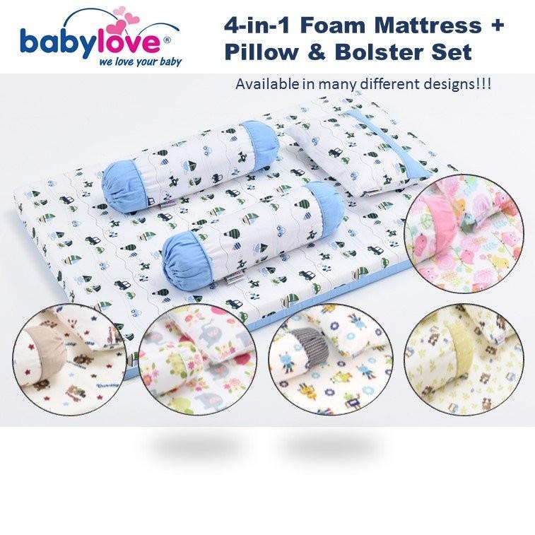 BabyLove Premium 4-in-1 Travel Mattress Set 2980 C