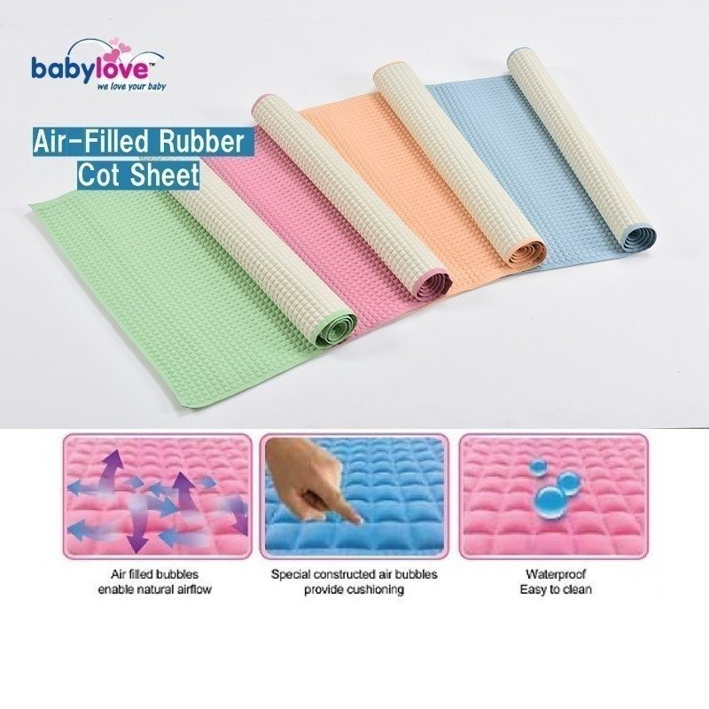 BabyLove Premium Air Filled Rubber Cot Sheet
