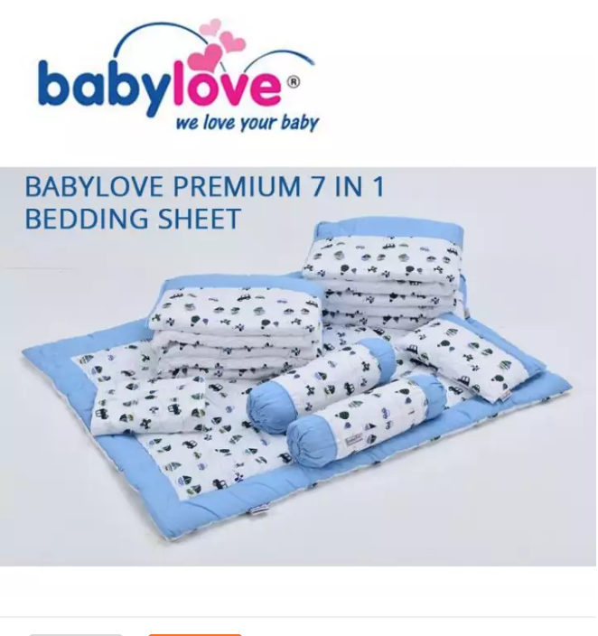 BabyLove Premium 7-in-1 Bedding Set CTB ( Multiple
