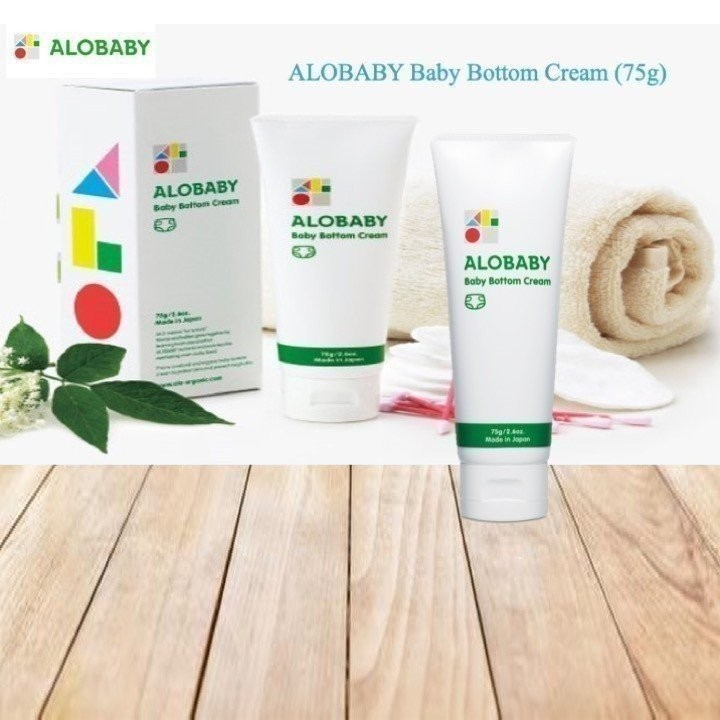Alobaby Baby Bottom Cream (75g)