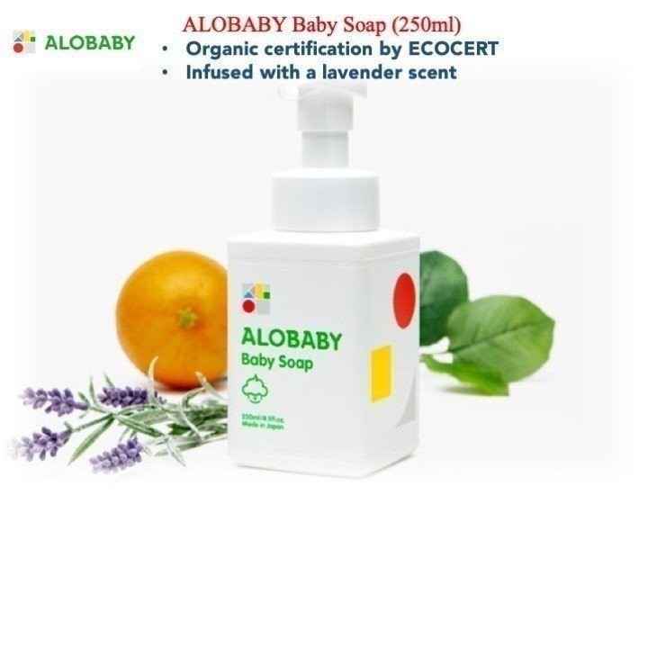 Alobaby Baby Soap (250ml)