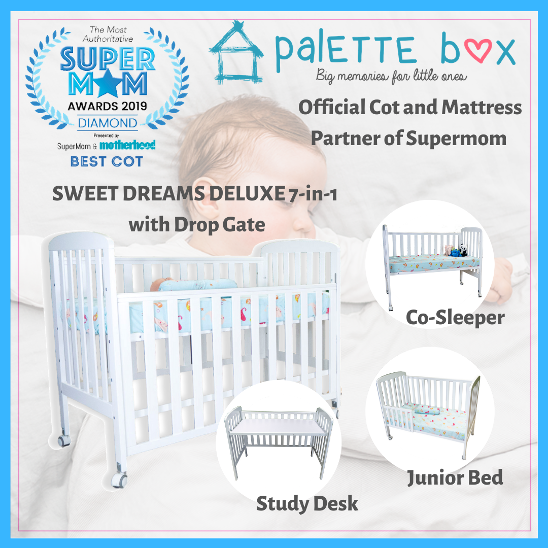 Sweet Dreams DELUXE DreamCots 7-in-1 Convertible C