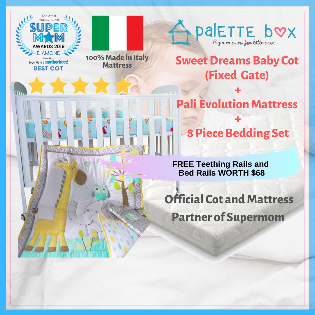 Sweet Dreams 7-in-1 Transformer Convertible Cot +