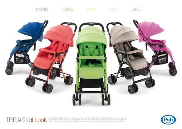 Pali Tre.9 Lightweight Stroller (Multiple colours!
