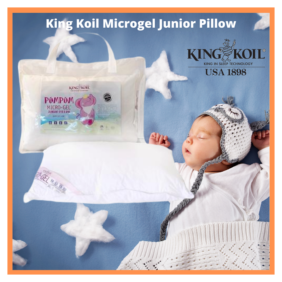 King Koil Baby Microgel Junior Pillow