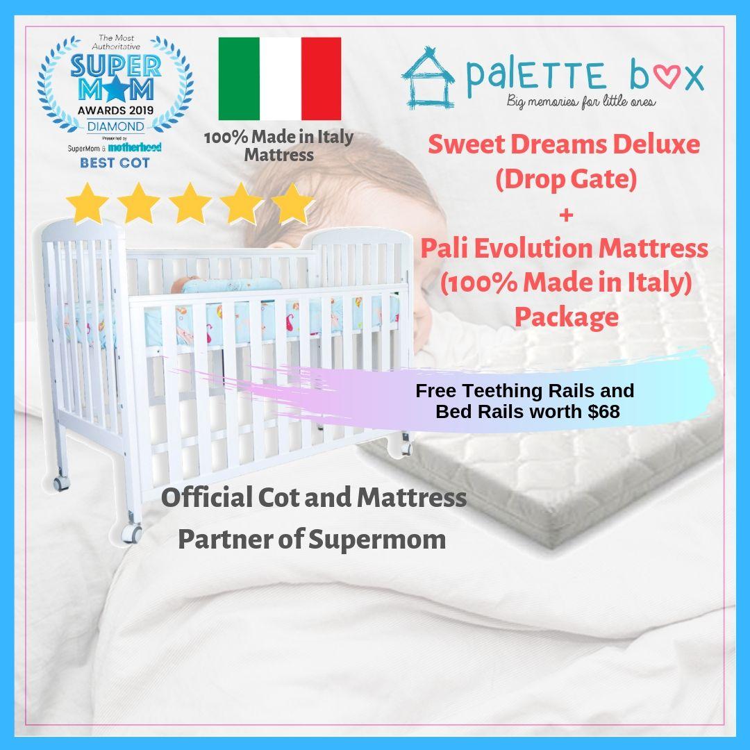 Sweet Dreams Deluxe (7-in-1) Drop Gate + Pali Evol